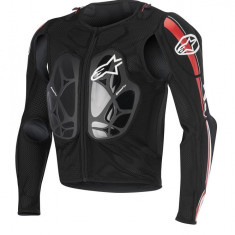 MXE Geaca protectie Alpinestars Bionic Pro, negru/rosu/alb Cod Produs: 65066161322XLAU - Protectii moto