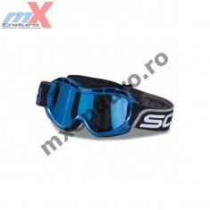 MXE Ochelari cross copii Scott Voltage R Pro culoare albastru/crom Cod Produs: VOLTAGERC - Ochelari moto