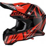 MXE Casca motocross Airoh Mx Terminator 2.1 Cut Gloss, portocaliu/negru Cod Produs: T2CU32LAU