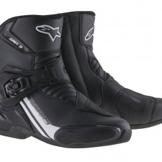 MXE Ghete moto Alpinestars Stiefel SMX-3, negru/alb Cod Produs: 2224014101242AU