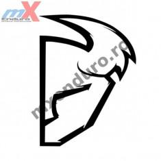 MXE Abtibild Thor S4 Die Cut culoare neagra Cod Produs: 43201518PE - Stikere Moto