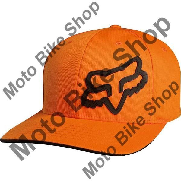 Fox Black//Orange Baseball Cap