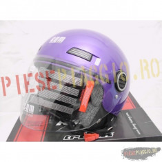 Casca moto semi-integrala CMG, culoare mov, marime XS PP Cod Produs: MX0060
