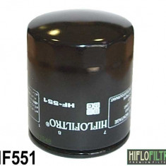 MXE Filtru ulei, Cod OEM Moto Guzzi 30153000 Cod Produs: HF551 - Filtru ulei Moto