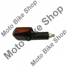 MBS MINI-BLINKER UNI CARBON LANG, CARBON, LANG, 15/216, Cod Produs: INDMLCBNAU - Semnalizare Moto