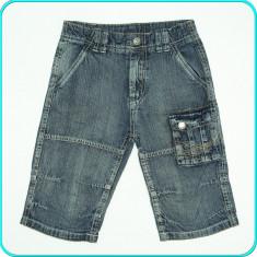 Pantaloni scurti, denim subtire, talia reglabila, KIKI & KOKO _ 6 - 7 ani | 122, Marime: Alta, Culoare: Bleumarin, Baieti