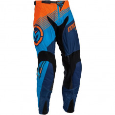 MXE Pantaloni motocross Moose Racing Sahara, portocaliu/cyan Cod Produs: 29015404PE - Imbracaminte moto