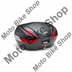 MBS GIVI TOPCASE MONOKEY V47, carbonoptik/schwarz, 47 LITER, Cod Produs: V47NNAU - Coburi - genti laterale Moto