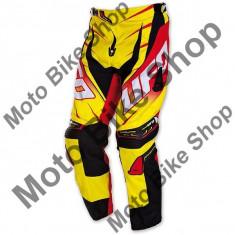 MBS Pantaloni motocross Ufo Voltage, galben, 52, Cod Produs: PI04377D52 - Imbracaminte moto