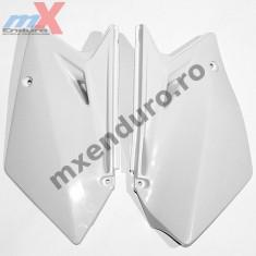 MXE Laterale spate albe, Suzuki RMZ 450/2007 Cod Produs: UF4906041AU - Carene moto