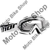MBS Ochelari motocross Thor Enemy, alb, sticla clara, Cod Produs: 26010708PE