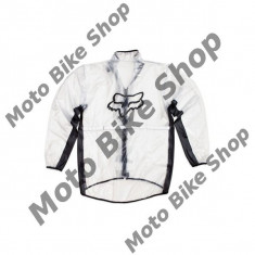 MBS Geaca de ploaie Fox, transparent, XXL, Cod Produs: 10033012007AU - Imbracaminte moto, Geci