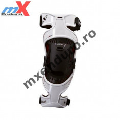 MXE Orteza genunchi Pod K300, albe, stanga Cod Produs: 0809000800 - Protectii moto