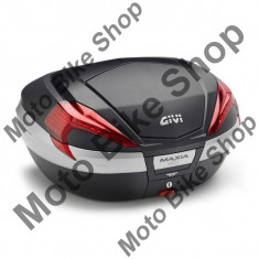 MBS GIVI TOPCASE V56 MAXIA 4, alu blende, 55 Liter, 15/206, Cod Produs: V56NNAU - Top case - cutii Moto