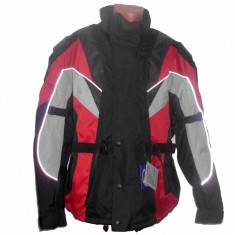 MXE Geaca ATV/Enduro cu cprotectii, culoare negru/rosu Cod Produs: MX5037 - Imbracaminte moto