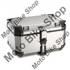 MBS GIVI TOPCASE TREKKER OUTBACK, alu, 58 LITER, Cod Produs: OBK58AAU - Top case - cutii Moto