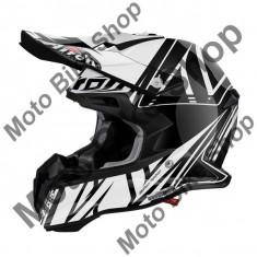 MBS Airoh Helm Mx Terminator 2.1 Cut Black Gloss, Schwarz, L=59-60, P:16/092, Cod Produs: T2CU17LAU - Casca moto