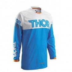 MXE Tricou motocross copii Thor Phase Hyperion, albastru/alb Cod Produs: 29121276PE - Imbracaminte moto