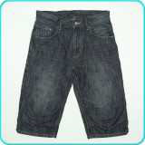 DE FIRMA→ Pantaloni scurti tip blugi, calitate H&M → baieti | 11—12 ani | 152 cm