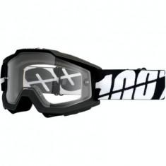 MXE Ochelari cross/enduro 100% Black Tornado Enduro lentila clara Cod Produs: 26011784PE - Ochelari moto