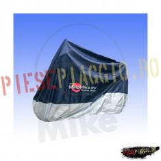 Prelata moto impermeabila 200 x 135 (albastru+argintiu) PP Cod Produs: 7115561MA - Husa moto