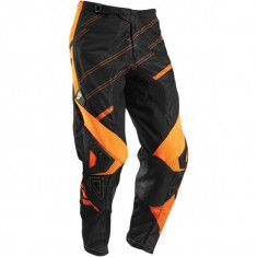 MXE Pantaloni motocross copii Thor Phase Vented Doppler, negru/fluorescent Cod Produs: 29031347PE - Imbracaminte moto