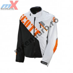 MXE Geaca moto/atv/snowmobil Scott SMB Jacke Comp-Two TP, culoare alb/negru Cod Produs: 2369181007 - Imbracaminte moto