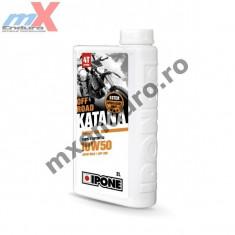MXE Ulei moto 4T Ipone Katana Off Road 10W50 100% Sintetic ESTER - JASO MA2 - API SM, 2L Cod Produs: 800365IP - Ulei motor Moto
