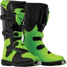 MXE Cizme motocross Thor Blitz, negru/verde Cod Produs: 34101442PE