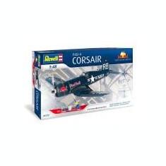 F4U-4 CORSAIR 'FLYING BULLS' - Macheta Aeromodel