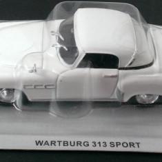 Macheta metal DeAgostini - Wartburg 313 Sport - Masini de Legenda Polonia - noua