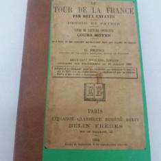 LE TOUR DE LA FRANCE PAR DEUX ENFANTS/ DEVOIR ET PATRIE/ 200 GRAVURI/ 1890 - Carte veche
