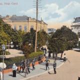 GIURGIU, PIATA CAROL, OFITERI, ANIMATIE, TRASURA - Carte Postala Muntenia dupa 1918, Necirculata, Printata