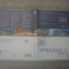 Spaniola Pack 1+2+3 - Cursuri de Limba Spaniola - PC Software
