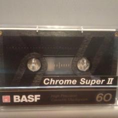 Caseta audio BASF CHROME SUPER II 60 - made in West Germany