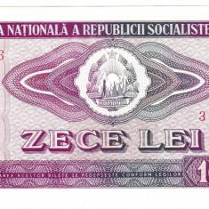3. Bancnota 10 lei 1966 perfect UNC - Bancnota romaneasca