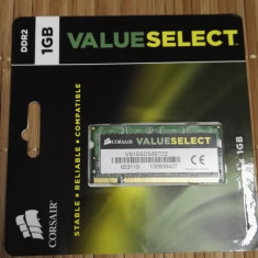 Ram Laptop Corsair 1Gb DDR2 667MHz VS1GSDS667D2 - Memorie RAM laptop