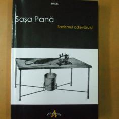 Sasa Pana Sadismul adevarului Cluj Napoca 2009 avangarda Marcel Iancu Urmuz - Biografie
