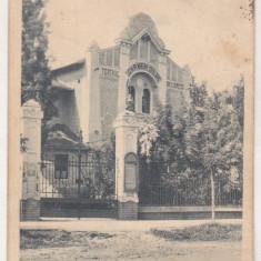 Bnk cp Carei - Teatrul - circulata 1940, Printata