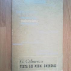 h4 Viata lui Mihai Eminescu - George Calinescu