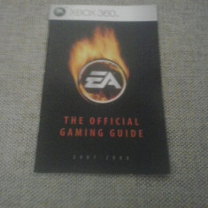 The oficficial EA gaming guide - XBOX 360 - 2007-2008 - Afis