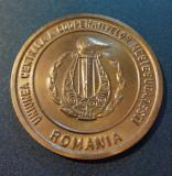 Medalie Uniunea centrala a cooperativelor mestesugaresti Romania 1