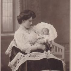 FOTOGRAFIE, FOTOGRAF W. OPPELT, BUCURESTI BULEVARDUL ELISABETA NO 4, 1909, Alb-Negru, Portrete, Romania 1900 - 1950