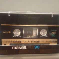 Caseta audio MAXELL CHROME XL 90 - made in JAPAN