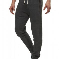 Pantaloni Sport Barbati Sky Rebel Gri inchis Casual - Pantaloni barbati, Marime: S, L, XL, XXL, Culoare: Din imagine