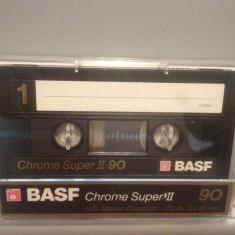 Caseta audio BASF CHROME SUPER II 90 - made in West Germany
