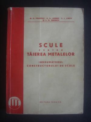 M. D. PEKARSKI - SCULE PENTRU TAIEREA METALELOR foto