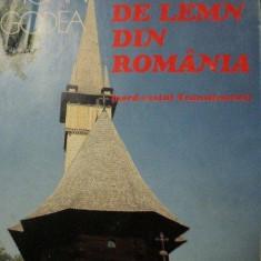 BISERICI DE LEMN DIN ROMANIA-NORD VESTUL TRANSILVANIEI-IOAN GODEA, BUC.1996 - Carte Arhitectura
