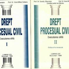 DREPT PROCESUAL CIVIL EXECUTAREA SILITA - V.M. CIOBANU, S. ZILBERSTEIN 2 VOL - Carte Drept procesual civil