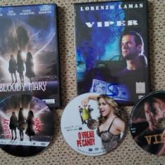 Filme actiune pe3 DVD:Bloody Mary(Evadarea diavolului), Viper, O vreau pe Candy - Film actiune Altele, Romana